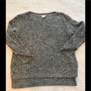 Chuncky high-low h&m sweater